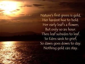robert frosts use of nature in his poetry Many of his poems center around nature, his love  on the use of image, allegory, and voice in robert frost  of-image-allegory-and-voice-in-robert-frosts-poetry.